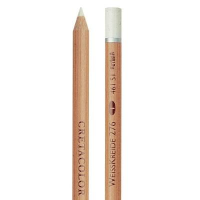 Cretacolor Artist Pencil, White Chalk Soft