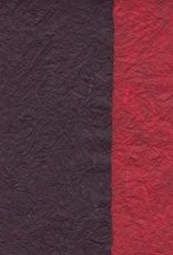 "Thailand Thai Reversible Black/Red, 23"" x 35"""