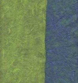 """Thailand Thai Reversible Blue/Green, 23"""" x 35"""""""