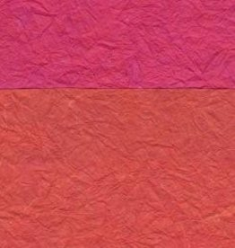 "Thailand Thai Reversible Pink/Orange, 23"" x 35"""