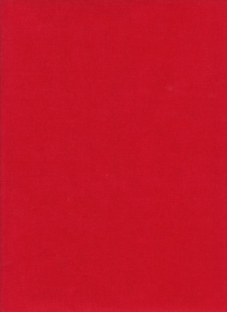 "France Red, Book Cloth, Superior, 17"" x 38"""