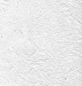 "India Crinkle White with Crystallized Mica, 22"" x 30"" Discontinued, Limited Availability"