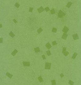 "India Indian Gel Print, Green Confetti, 22"" x 30"""