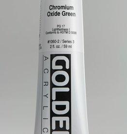 Golden, Heavy Body Acrylic Paint, Chromium Oxide Green, Series 3, Tube, 2fl.oz.