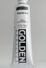 Golden, Heavy Body Acrylic Paint, Graphite Gray, Series 2, Tube, 2fl.oz.