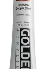 Golden, Heavy Body Acrylic Paint, Iridescent Copper Fine, Series 7, Tube, 2fl.oz.