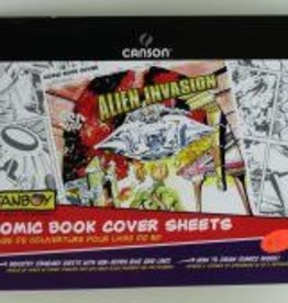 """Domestic Canson, Fanboy, Comic Book Cover Sheets, 150lb/250gm, 11"""" x 17"""", 24 Sheets"""