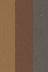 """India Pastel Paper Multi-Natural Pack, 9"""" x 12"""", 25 Sheets, 5 Sheets of Each Color"""