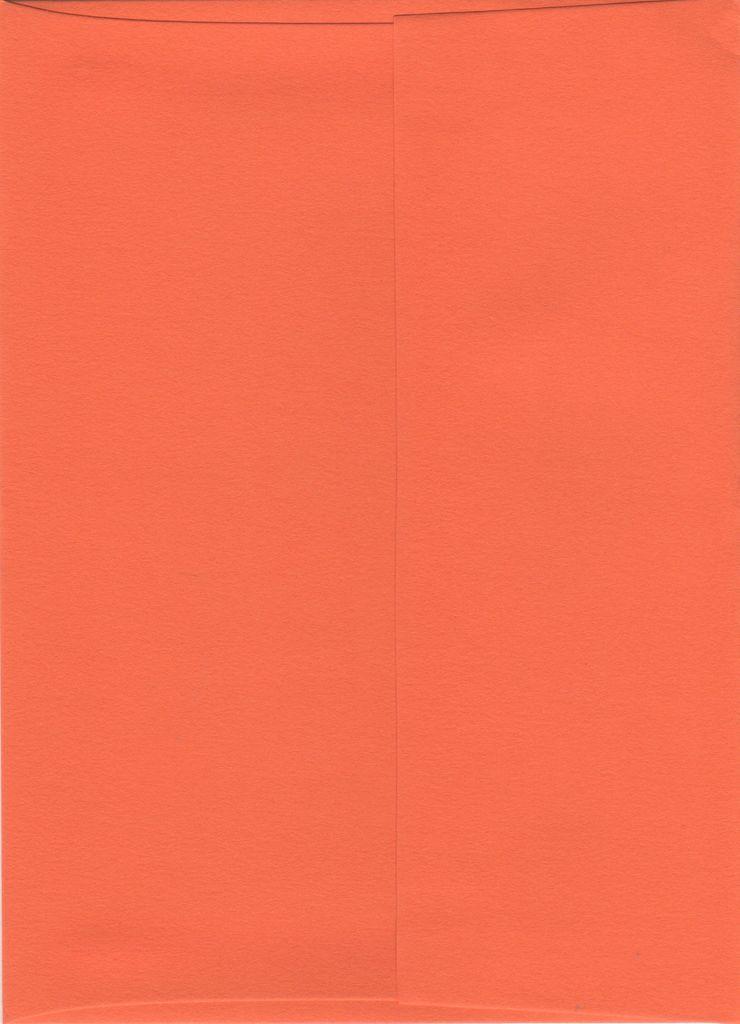"""Sorbet Envelope, Mango Orange, A7, 5"""" x 7"""""""