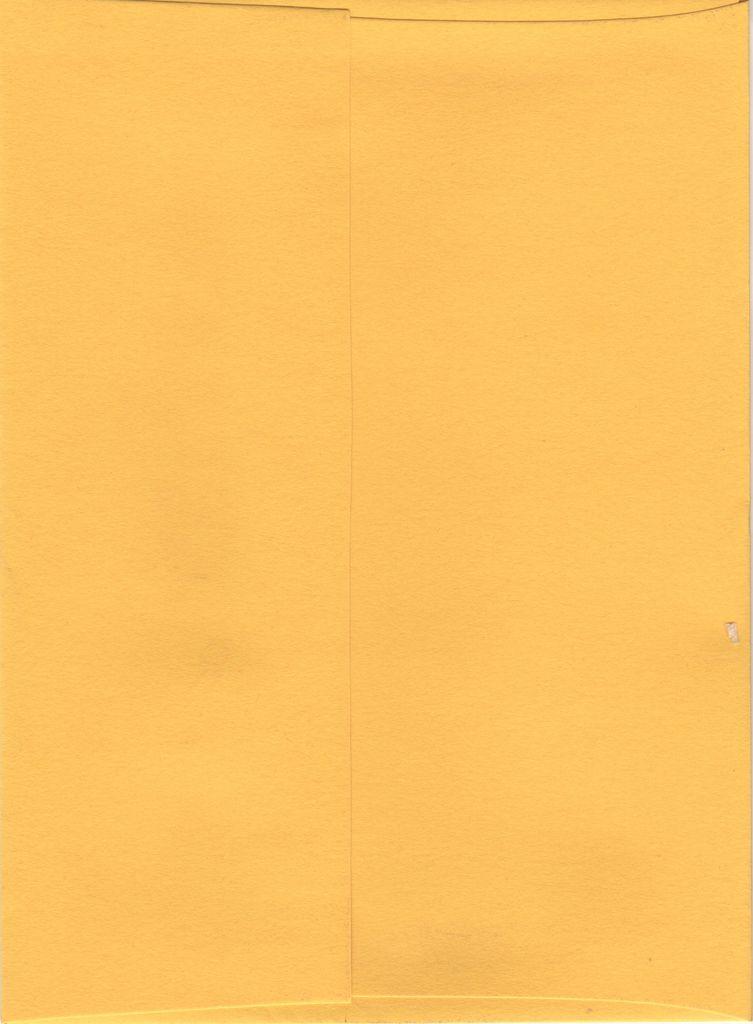 """Sorbet Envelope, Lemon Yellow, A7, 5"""" x 7"""""""