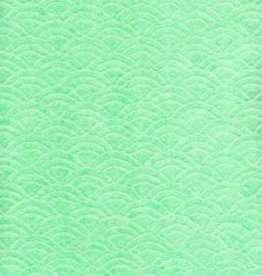"Japan Uminami Lace Mint, 21"" x 31""<br /> Limited Availability"