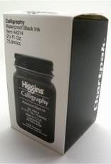 Calligraphy, Waterproof Black Ink, Higgins, 2.5oz