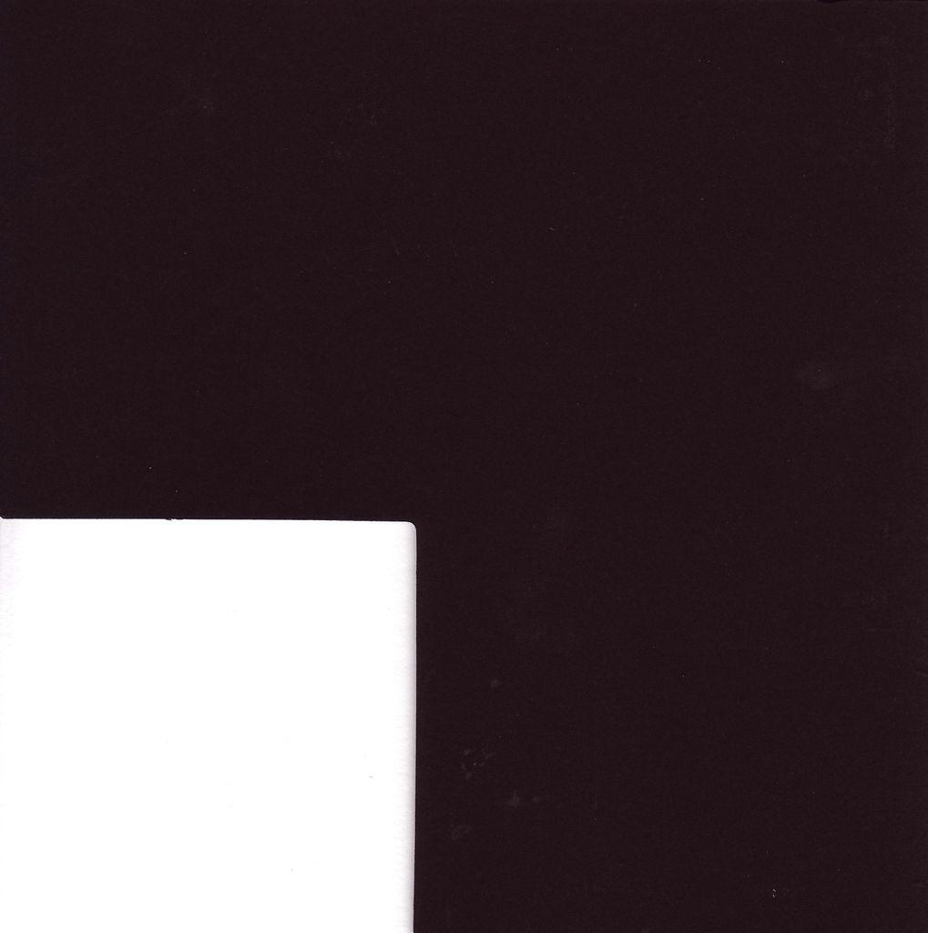 "Domestic Rising Museum Board, Black, 4 ply, 32"" x 40"""