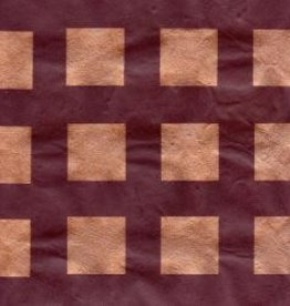 "Nepal Lokta Squares, Copper on Chocolate, 20"" x 30"""
