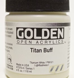 Golden OPEN, Acrylic Paint, Titan Buff, Series 1, Jar (4fl.oz.)