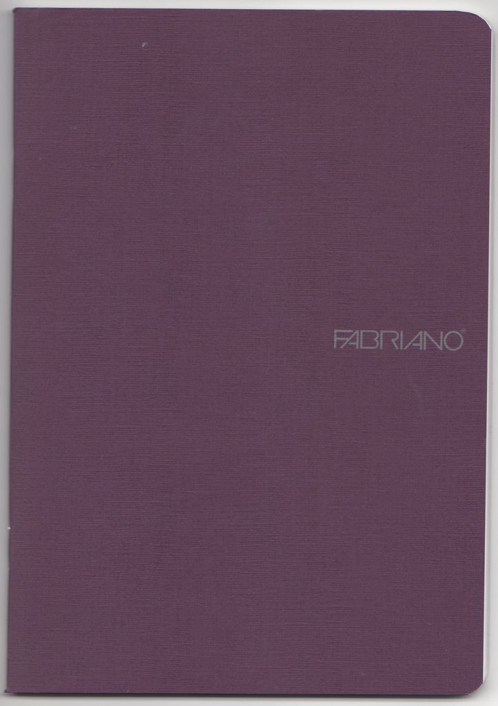 "Italy EcoQua Blank Notebook, Wine, 5.75"" x 8.25"", 40 Sheets"