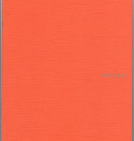 "Italy EcoQua Blank Notebook, Orange, 8.25"" x 11.5"", 40 Sheets"