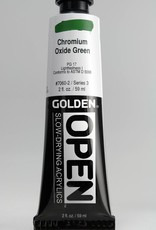 Golden OPEN, Acrylic Paint, Chromium Oxide Green, Series 3, Tube (2fl.oz.)