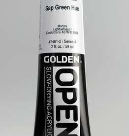 Golden OPEN, Acrylic Paint, Sap Green Hue, Tube (2fl.oz.)