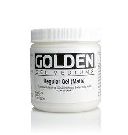 Golden, Regular Gel Medium, Matte, 8oz Jar