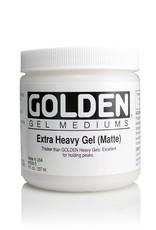 Golden, Extra Heavy Gel Medium, Matte, 8oz Jar