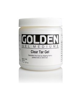 Golden, Clear Tar Gel, Medium  8 oz Jar