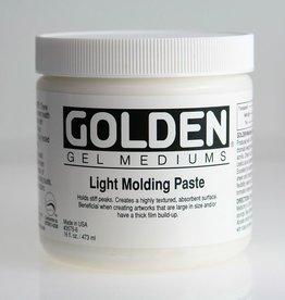 Golden, Light Molding Paste, Medium, 8 oz Jar