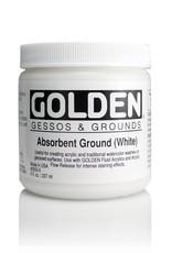 Golden, Absorbent Ground White, Medium, 8oz Jar