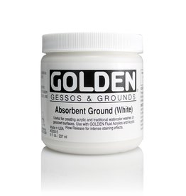 Golden, Absorbent Ground White, Medium, 8oz Jar