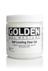 Golden, Self Leveling Clear Gel, Medium  8 oz Jar