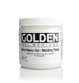 Golden, Extra Heavy Gel, Molding Paste, 8 oz