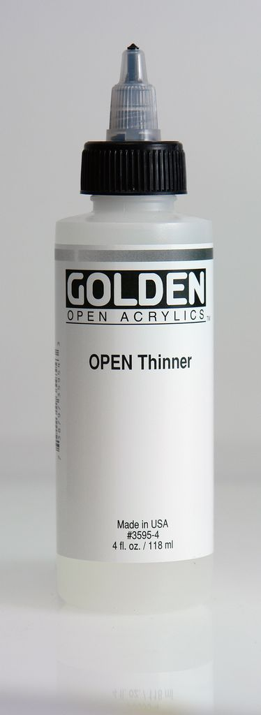 Golden OPEN Acrylic Thinner, 4 Fl Oz.