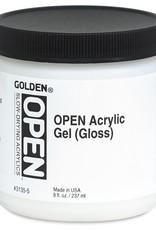 Golden OPEN Acrylic Gel, Gloss, 4 Fl Oz.