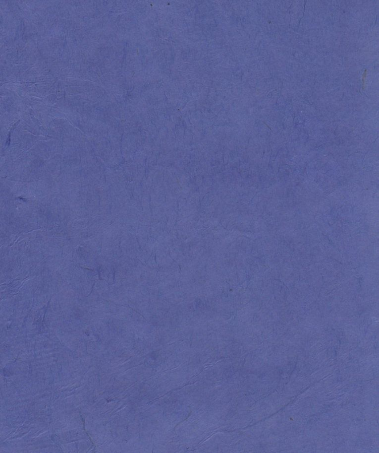 "Nepal Lokta Cerulean Blue, 20"" x 30"""