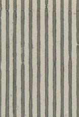 "India Indian Grey Stripes, 22"" x 30"" Limited Availability"
