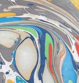 "India Indian Marble, Rainbow, Turkish Design, 22"" x 30"""