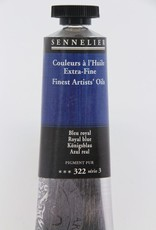 France Sennelier, Fine Artists' Oil Paint, Royal Blue, 322, 40ml Tube, Series 3