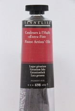 France Sennelier, Fine Artists' Oil Paint, Germanium Lake, 698, 40ml Tube, Series 5