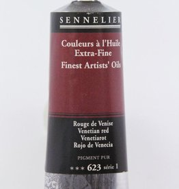 France Sennelier, Fine Artists' Oil Paint, Ventetian Red, 623, 40ml Tube, Series 1