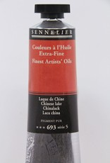 France Sennelier, Fine Artists' Oil Paint, Chinese Lake, 693, 40ml Tube, Series 5