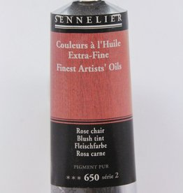France Sennelier, Fine Artists' Oil Paint, Blush Tint, 650, 40ml Tube, Series 2