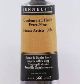France Sennelier, Fine Artists' Oil Paint, Naples Yellow Deep, 566, 40ml Tube, Series 2