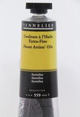 France Sennelier, Fine Artists' Oil Paint, Aureoline, 559, 40ml Tube, Series 5