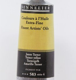 France Sennelier, Fine Artists' Oil Paint, Turner Yellow, 583, 40ml Tube, Series 4