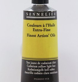 France Sennelier, Fine Artists' Oil Paint, Cadmium Yellow Light Hue, 539, 40ml Tube, Series 4
