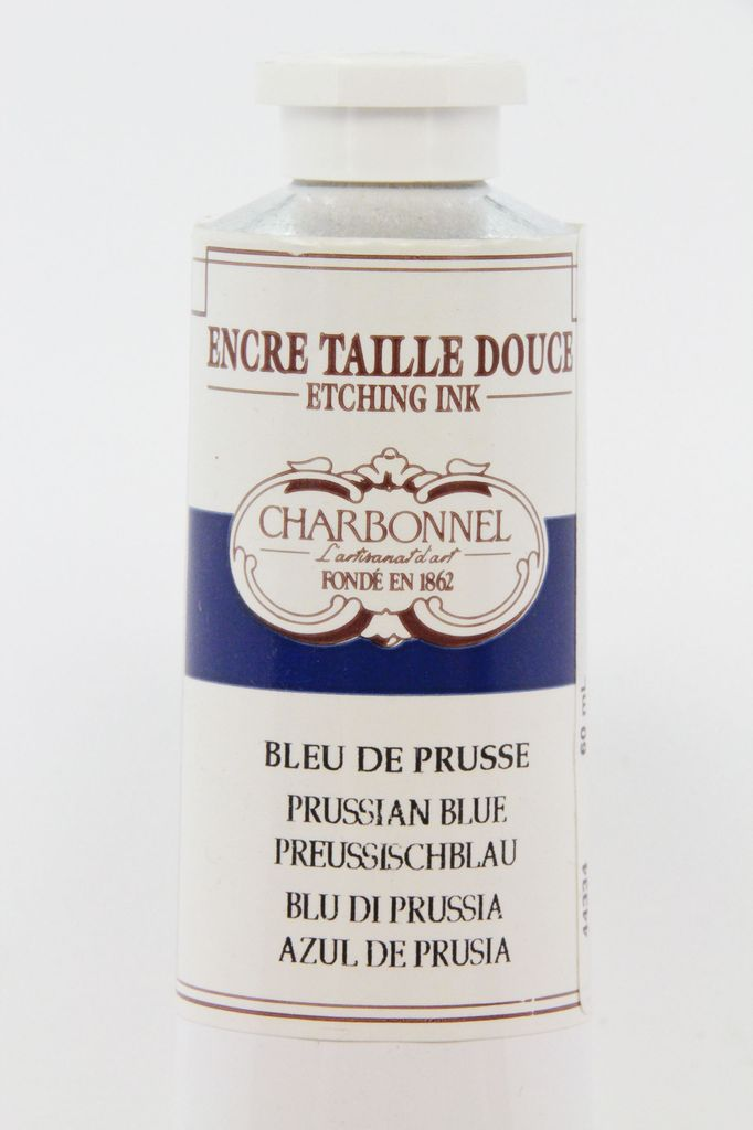 France Charbonnel, Etching Ink, Prussian Blue, Series 3, 60ml, Tube