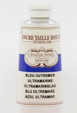 France Charbonnel, Etching Ink, Ultramarine Blue, Series 2, 60ml, Tube