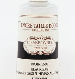 France Charbonnel, Etching, Universal Black 55981, Series 2, 60ml, Tube