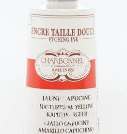 France Charbonnel, Etching Ink, Nasturtium Yellow, Series 6, 60ml, Tube