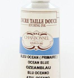 France Charbonnel, Etching Ink, Ocean Blue, Series 4, 60ml, Tube